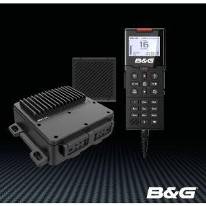 B&G V100-B VHF-radio met speaker en handset - DeWatersportwinkel.nl